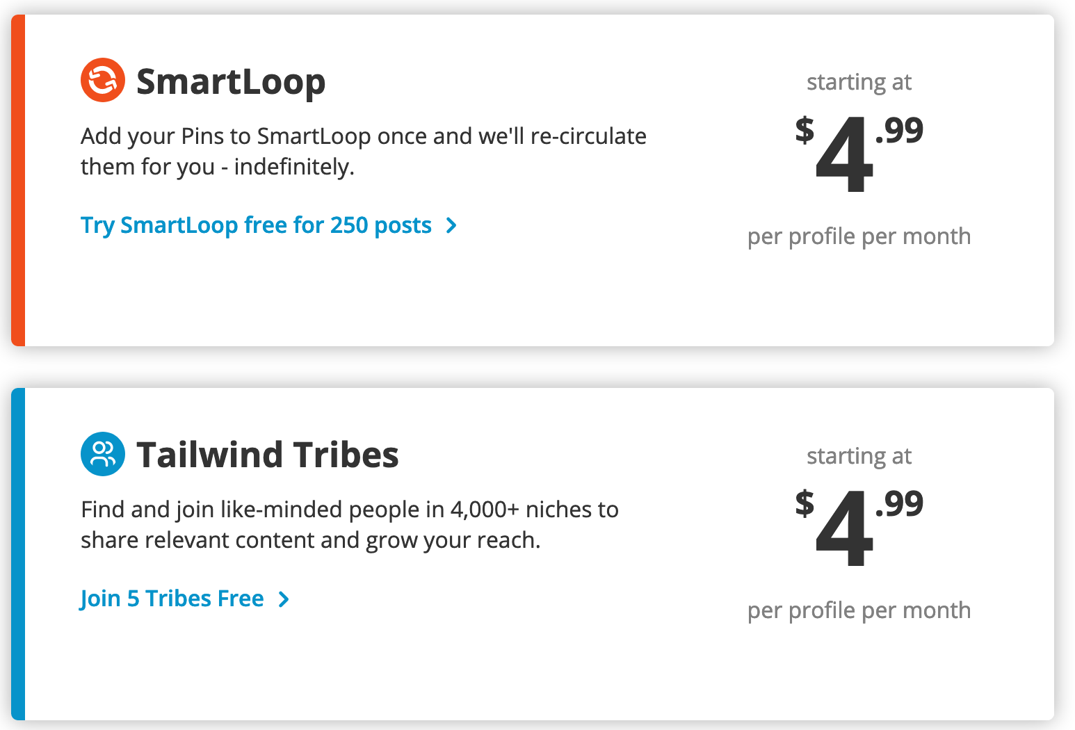Tailwind - Top Tools to Grow Your Business