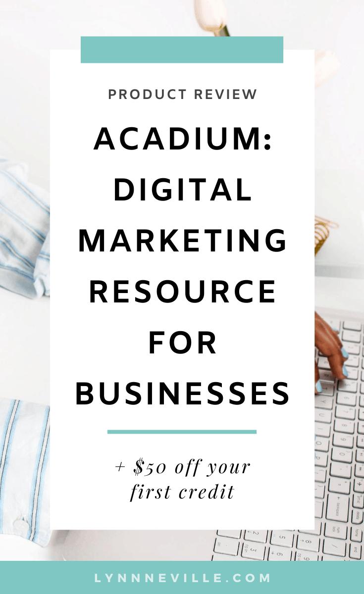 Acadium Review: Digital Marketing Resource For Businesses